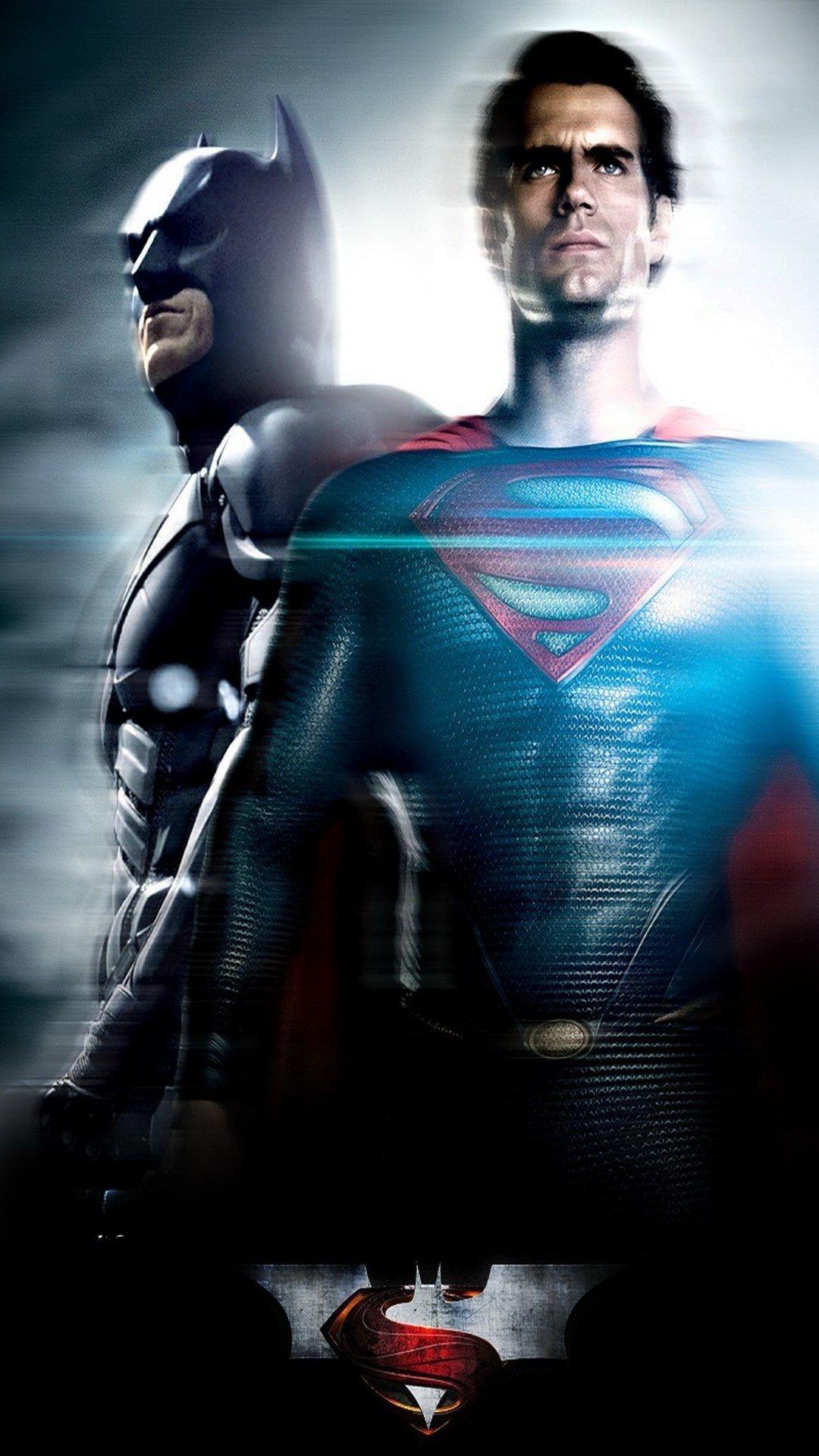 download free superman iphone wallpaper Batman v