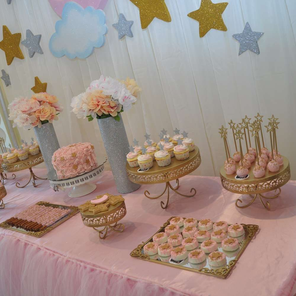 twinkle twinkle little star baby shower party ideas | baby shower