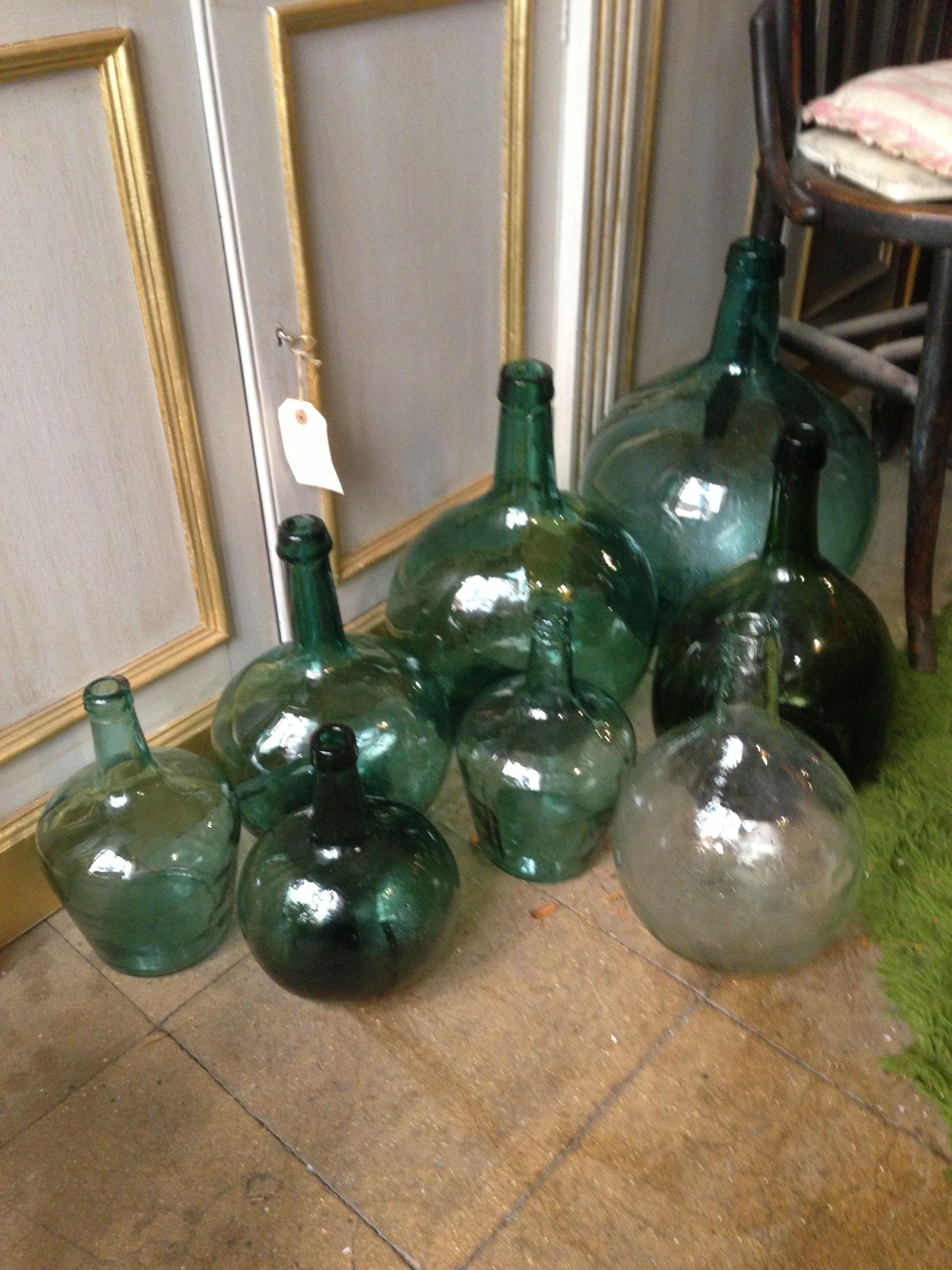 Botellas cristal varios modelos.