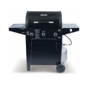 Brinkmann Professional 3-Burner Propane Gas Grill-810-3330 ...