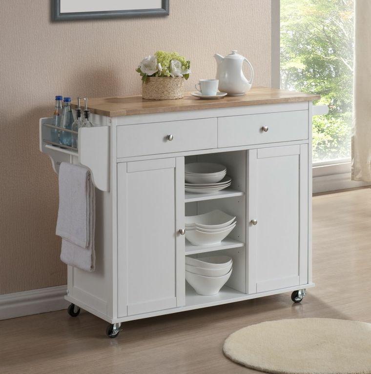 Muebles auxiliares de cocina -24 diseños interesantes | The ...