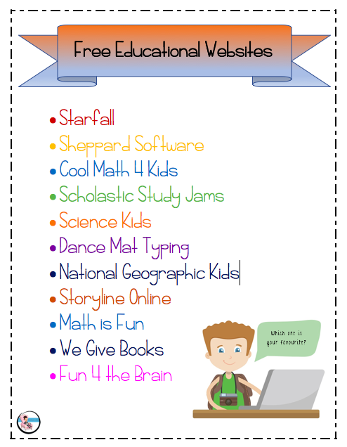 14++ Free learning websites for kindergarten Useful