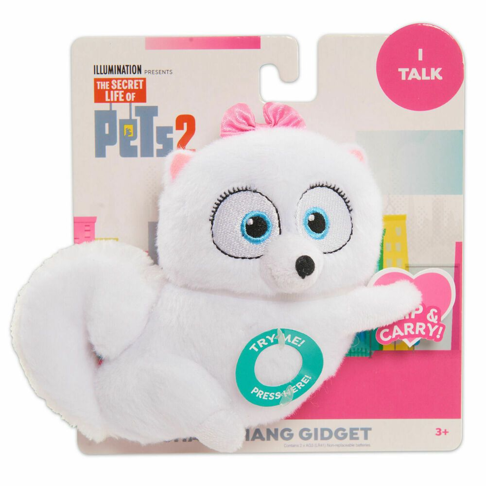 Details About Secret Life Of Pets 2 Chat Hang Plush Gidget Secret Life Of Pets Secret Life Plush Animals