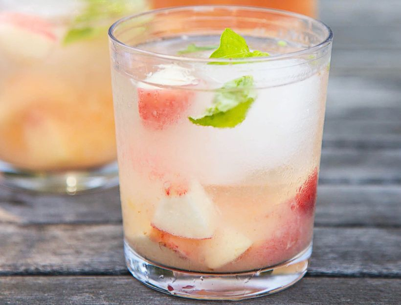 how to make sangria with rose wine