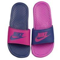 963db6a2e Nike Benassi JDI Mismatch Slide - Women s - Purple   Pink