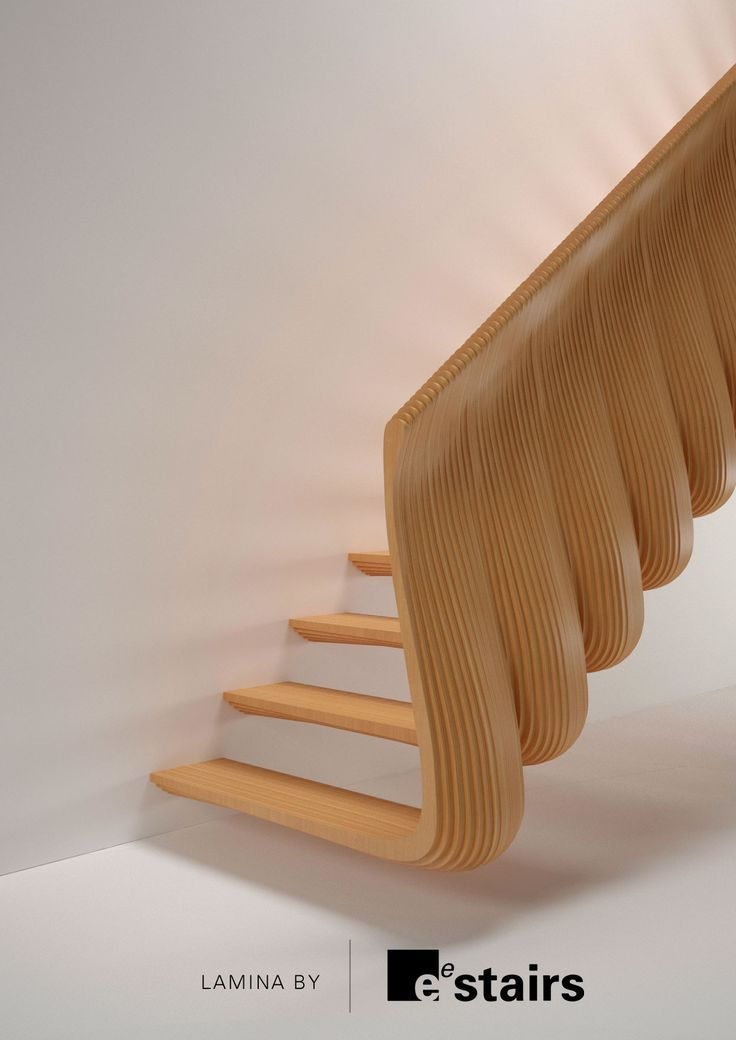 Best Sculptural Staircase Design Параметрический Дизайн 640 x 480