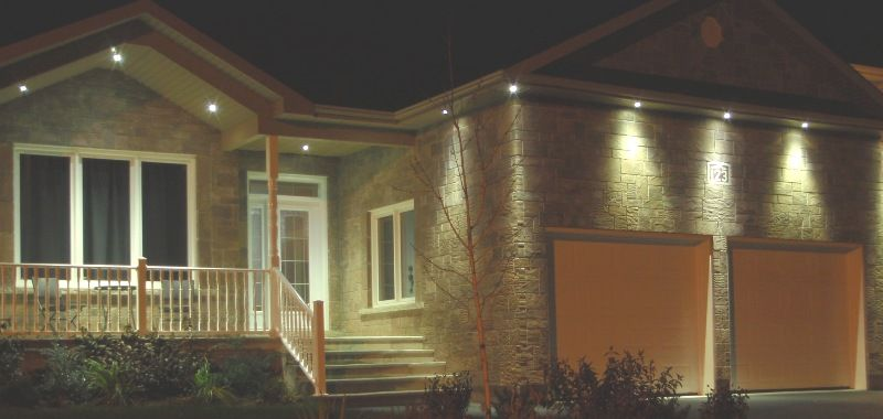 Soffit Light Under Eave Fixture Lighting Best Quality Cornice Exterior Potlight Pot Home