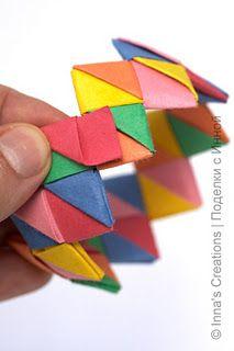 Origami Bracelet Instructions