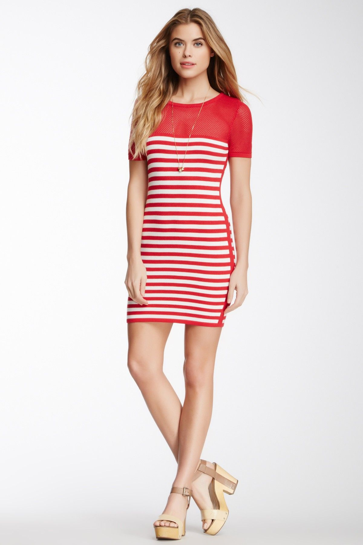 Romeo & Juliet Couture | Striped Knit Dress | Nordstrom Rack ...