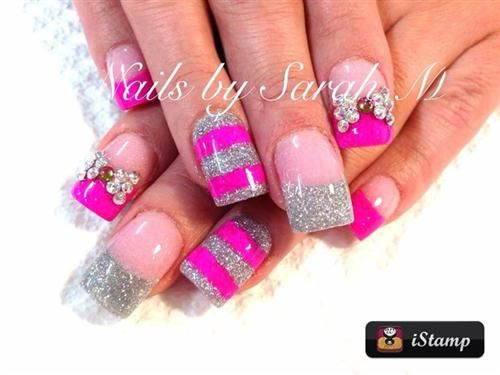 76 Cute 3d Nail Art Designs To Have Beautiful Nails Pinterest