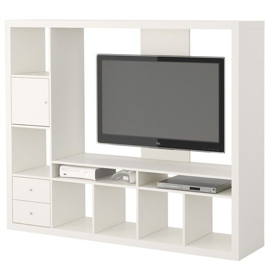 Tv units our pick of the best ikea tv unit ikea tv for Expedit tv bench