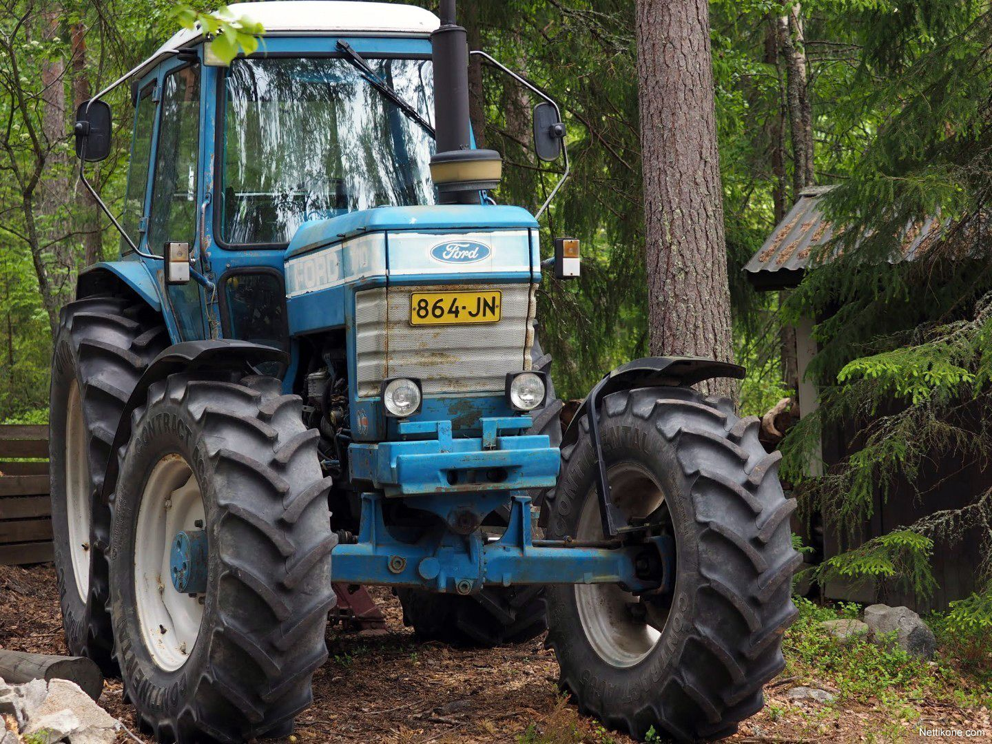1982 Ford 7710 Ford Tractors Classic Tractor Tractors