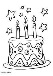 Disegni Di Torte Di Compleanno Da Stampare E Colorare Portale Bambini Birthday Birthdaycake Ca Pagine Da Colorare Di Natale Torte Di Compleanno Compleanno