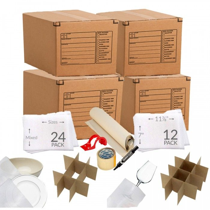 Kitchen Moving Supplies Kit 1 Moving Boxes Moving Kit Moving Supplies