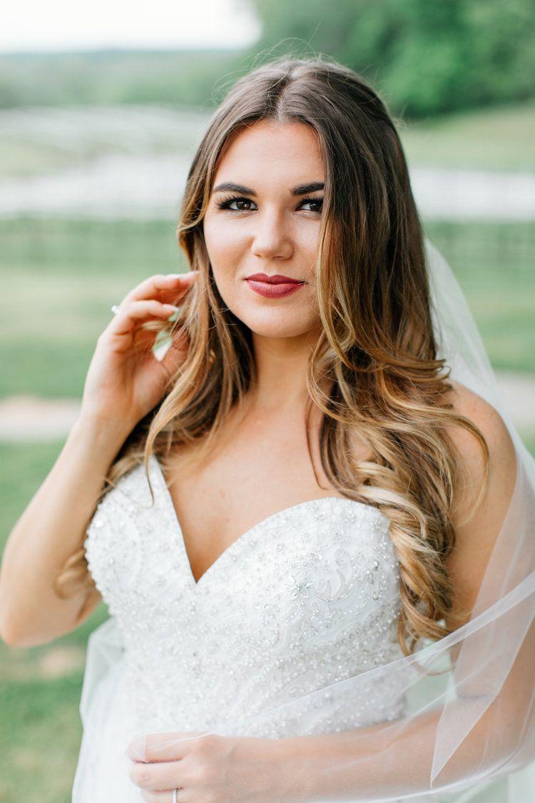 michelle + jimmy | weddings | natural bridal hair, wedding