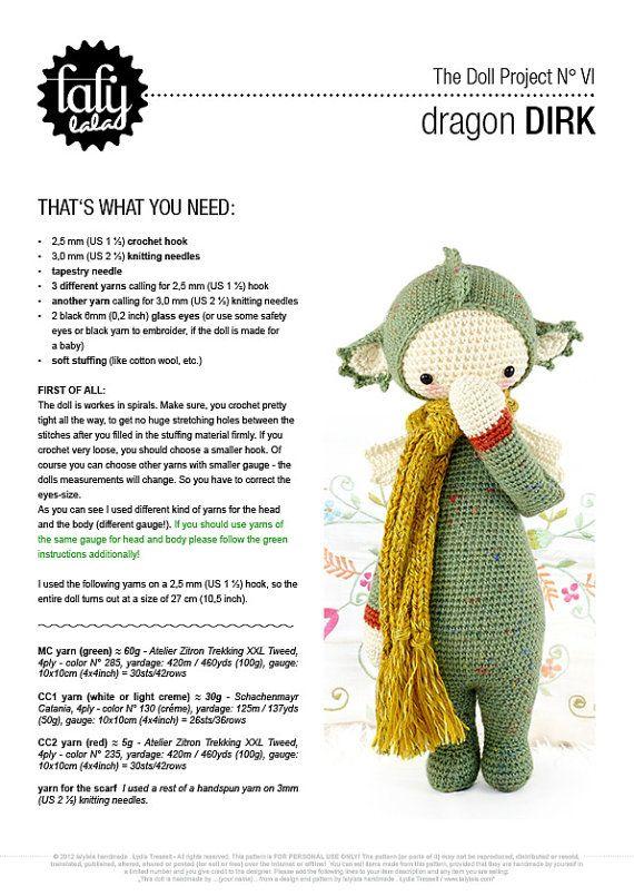 Resultado de imagen de lalylala patrones gratis | muñeco | Pinterest ...