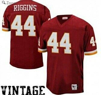 51276d688 John Riggins Washington Redskins Mitchell   Ness Authentic Throwback Jersey  – Burgundy