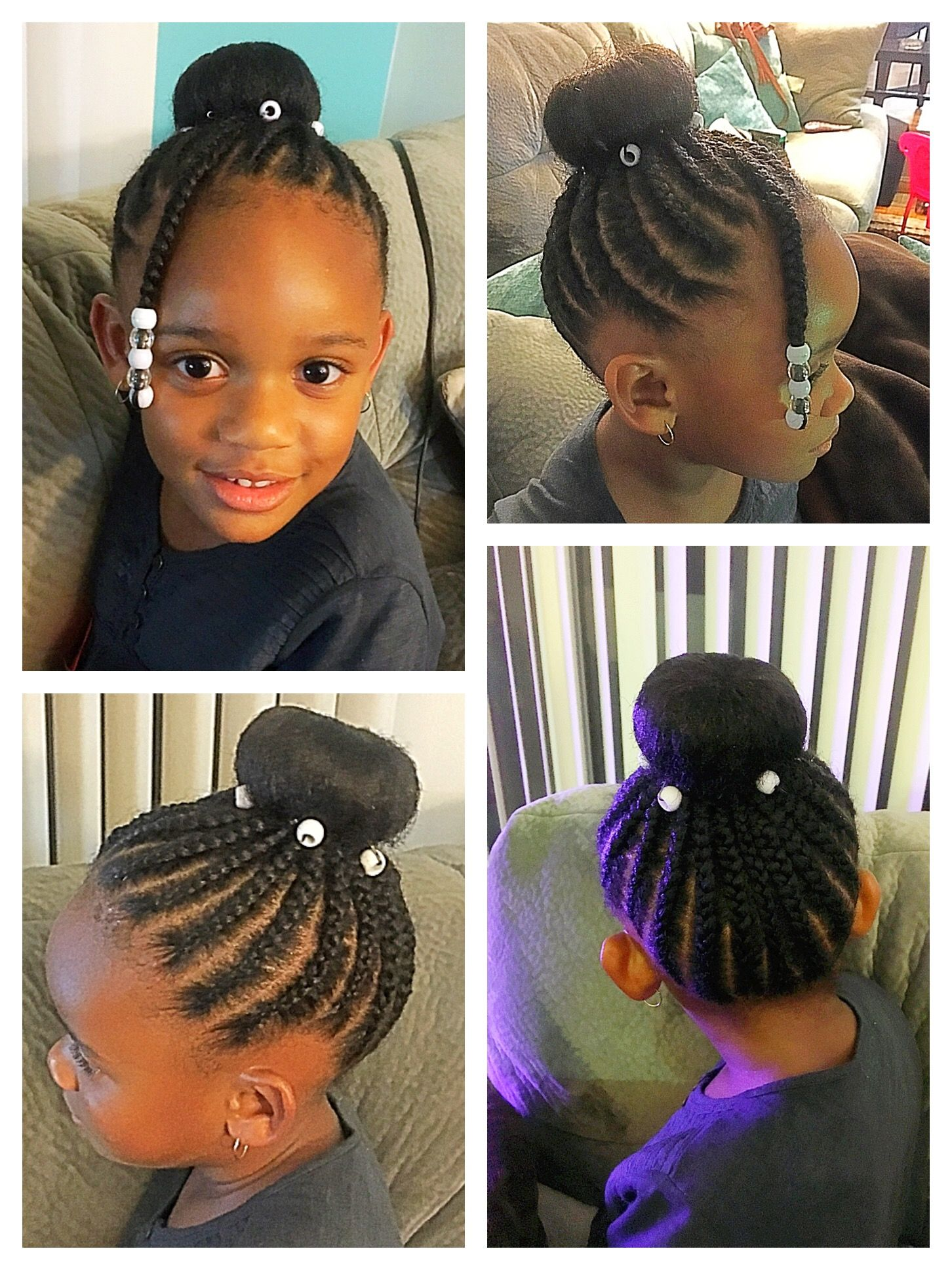 Pin By SmartgalKaris Jtr On Kid Hairstyles For Natural