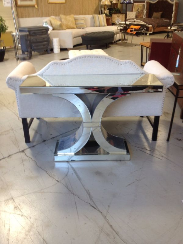 Splendora Mirrored Console Neiman Marcus Horchow Hollywood glam ...