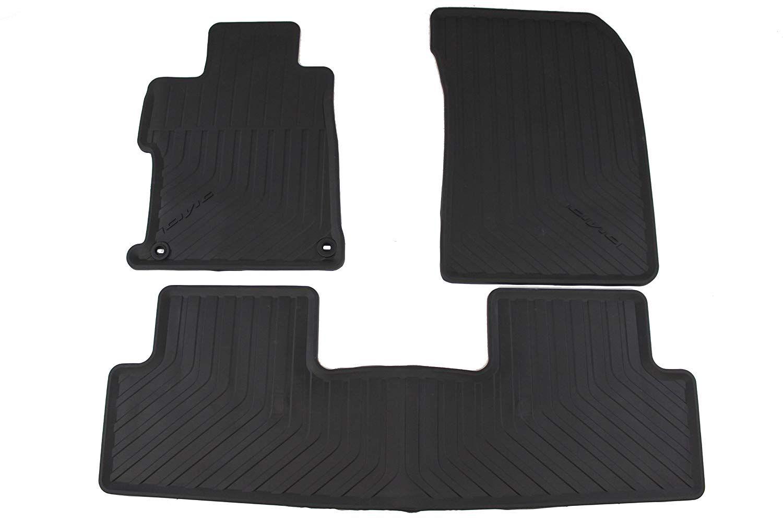 Honda Genuine Accessories 08p13 Tr0 110a Black All Season Floor