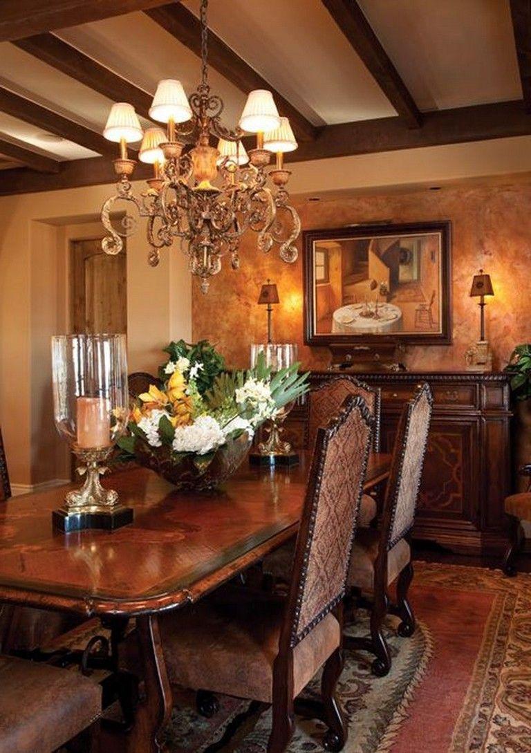 55 Celebrated and Luxury Western Dining Room Design #diningroom #diningroomideas # ...