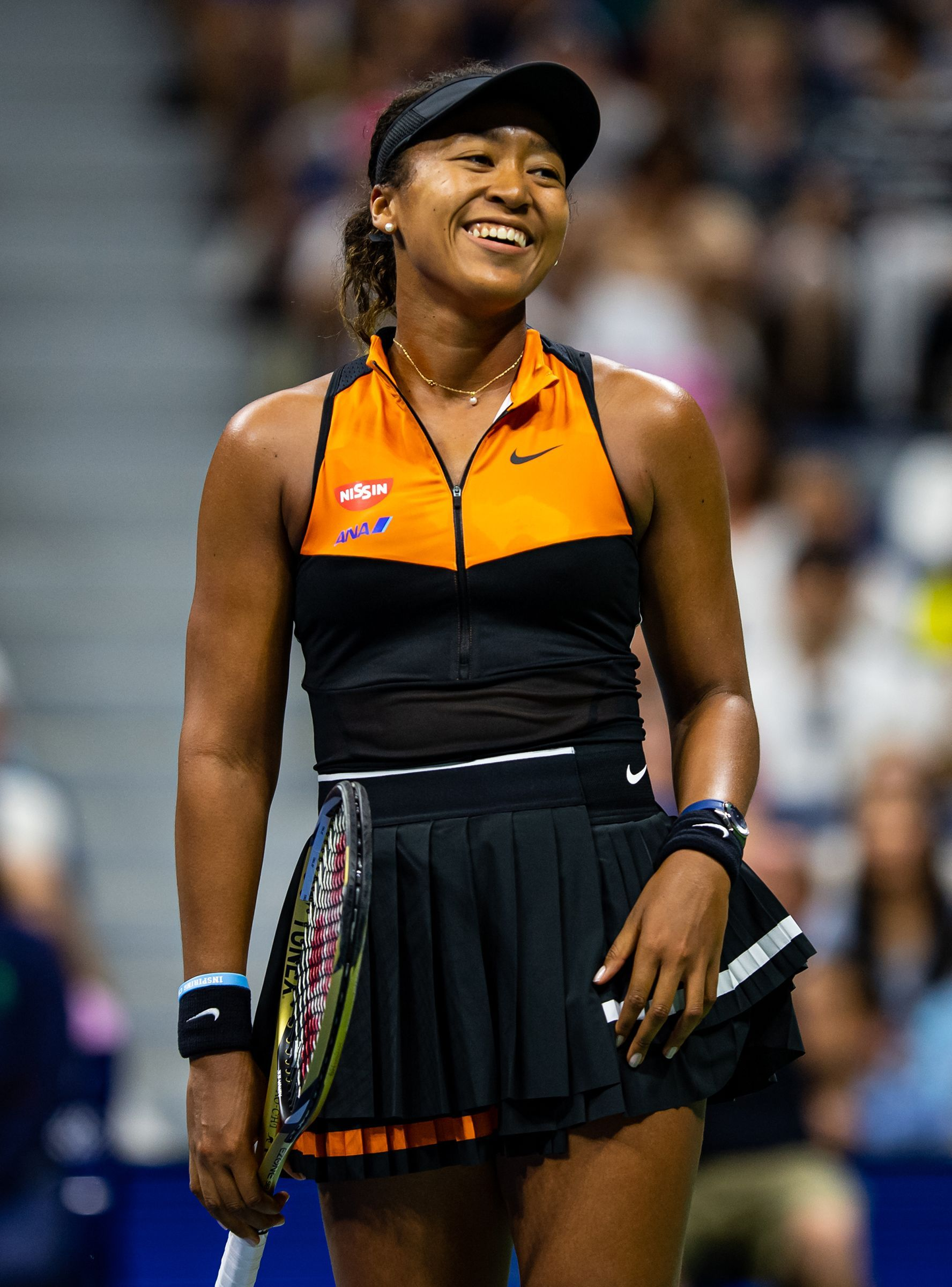 Naomi Osaka S Gesture After Besting Coco Gauff At U S Open Will Capture Your Heart Tennis Fashion Tennis Players Female Tennis Clothes