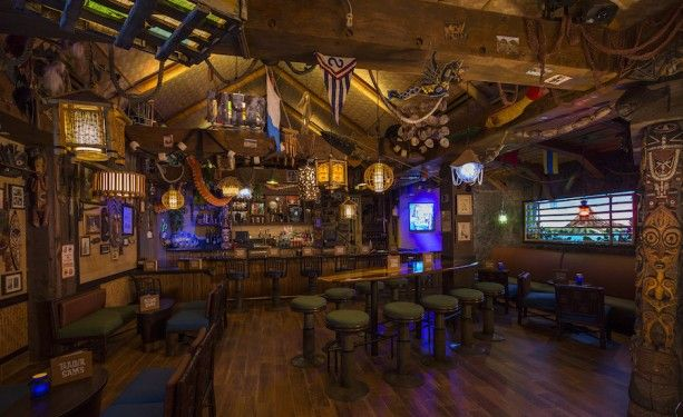 March 2015: Trader Sam's Grog Grotto soft-opens at Disney's Polynesian Village Resort!