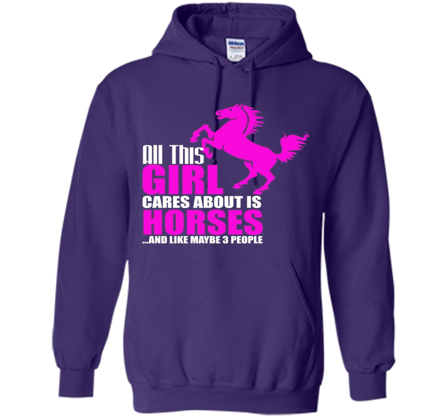 Horses Shirt - All This Girl Cares About Is Horses