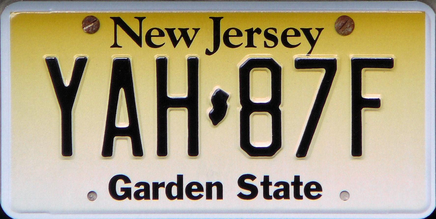 New Jersey Garden State New Jersey Jersey New Drivers