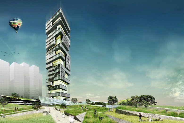 Architecture School Tower, Dubai