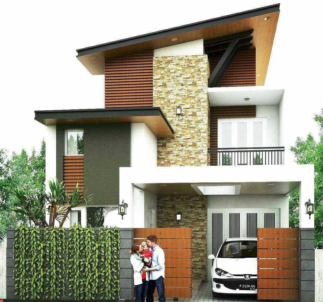 Model Rumah Semi Permanen - Desain Rumah
