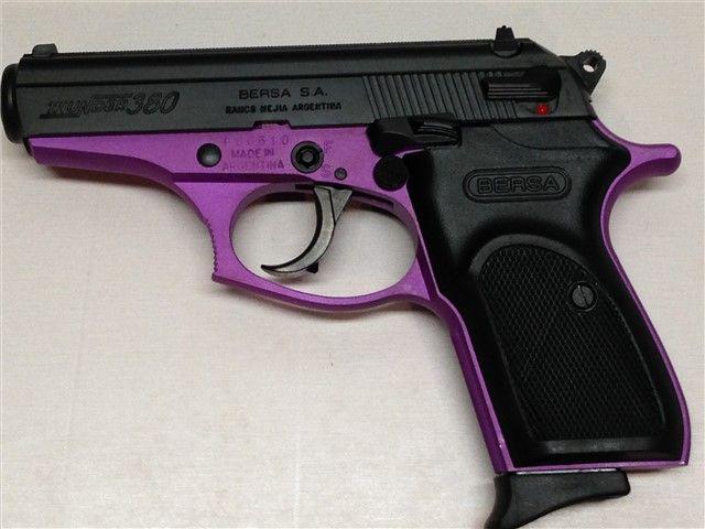 BERSA THUNDER 380 PURPLE/BLACK 380 ACP : Semi Auto Pistols