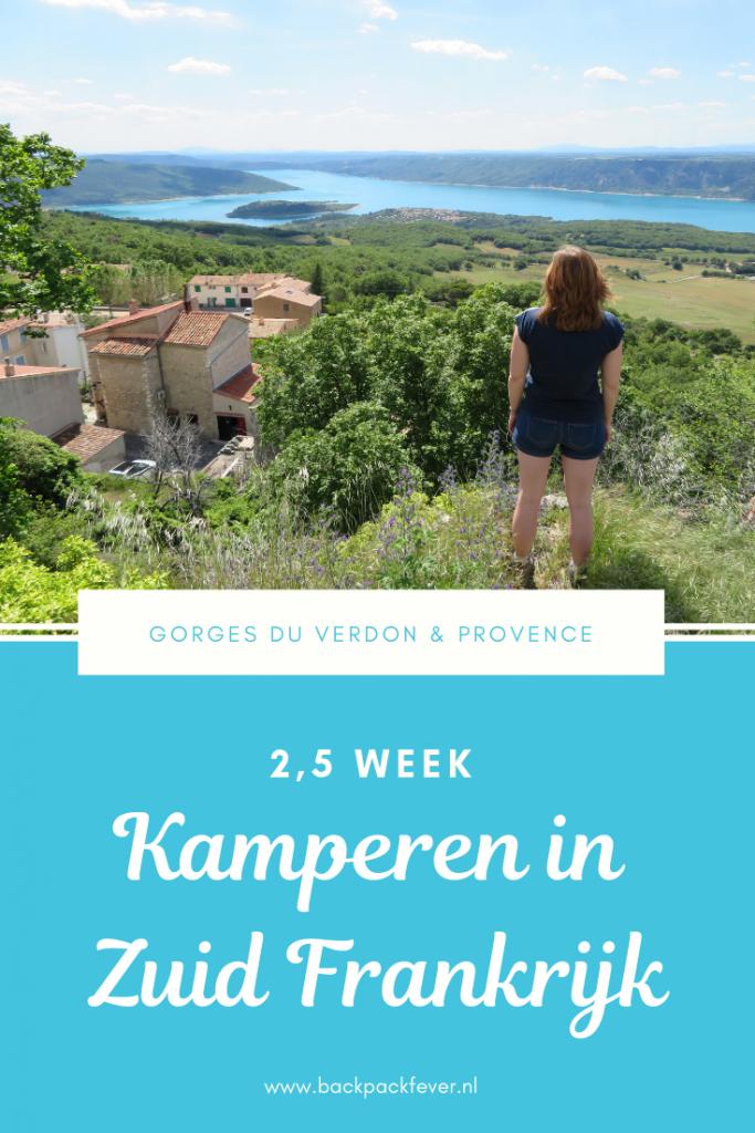 2,5 weken kamperen in Zuid Frankrijk Backpackfever