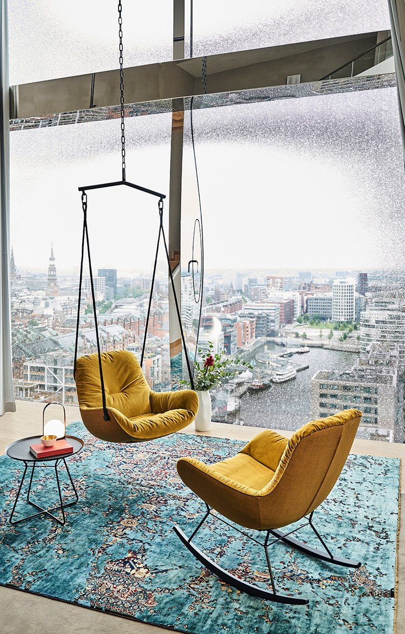 in the swing of things with FREIFRAU's leya swing seats & rocking chairs
