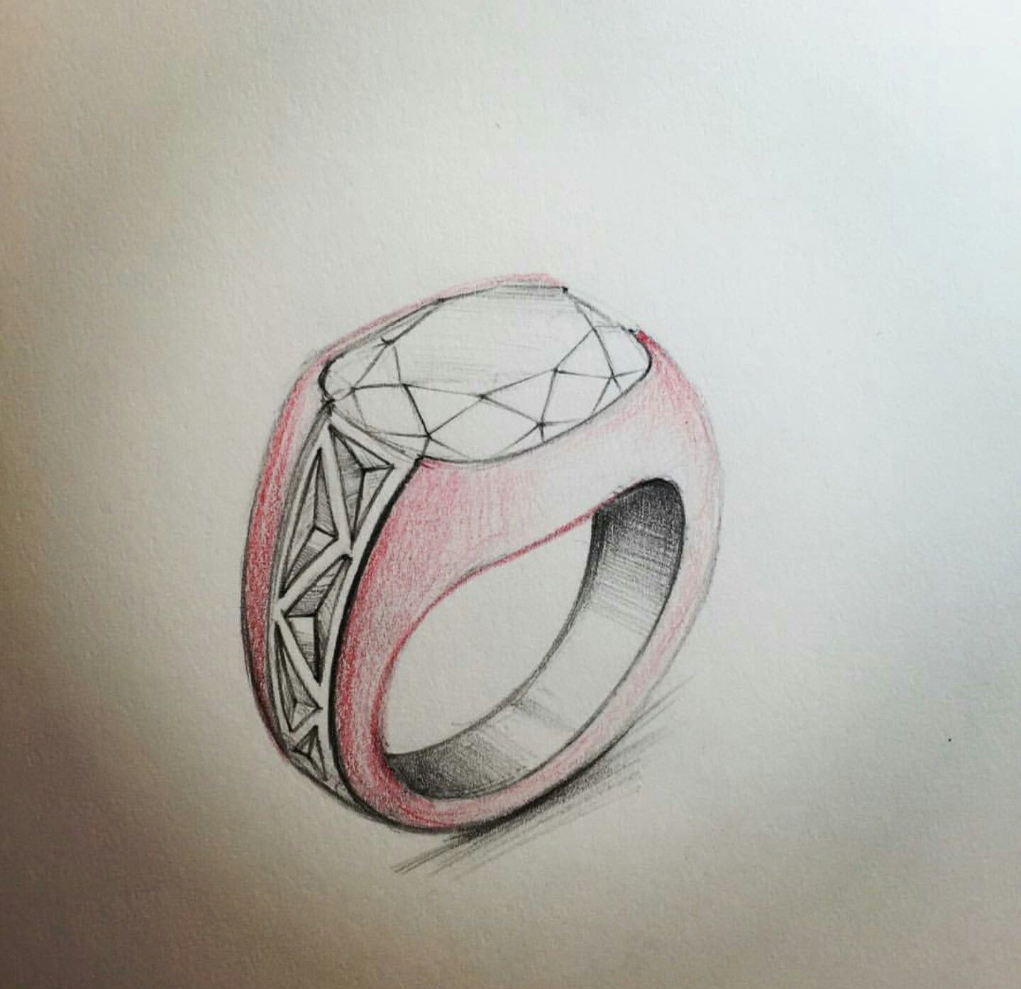 Pin By 秀華 吳 On Jewellery Sketches Jewelry Design Drawing