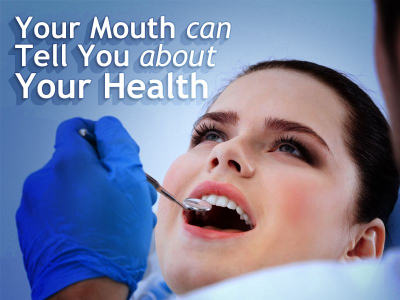 A healthy mouth may help you ward off medical disorders