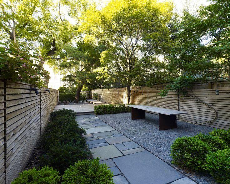 Foras Studio Prospect Heights Garden Brooklyn Terrace Garden Design Small Backyard Landscaping Modern Landscaping