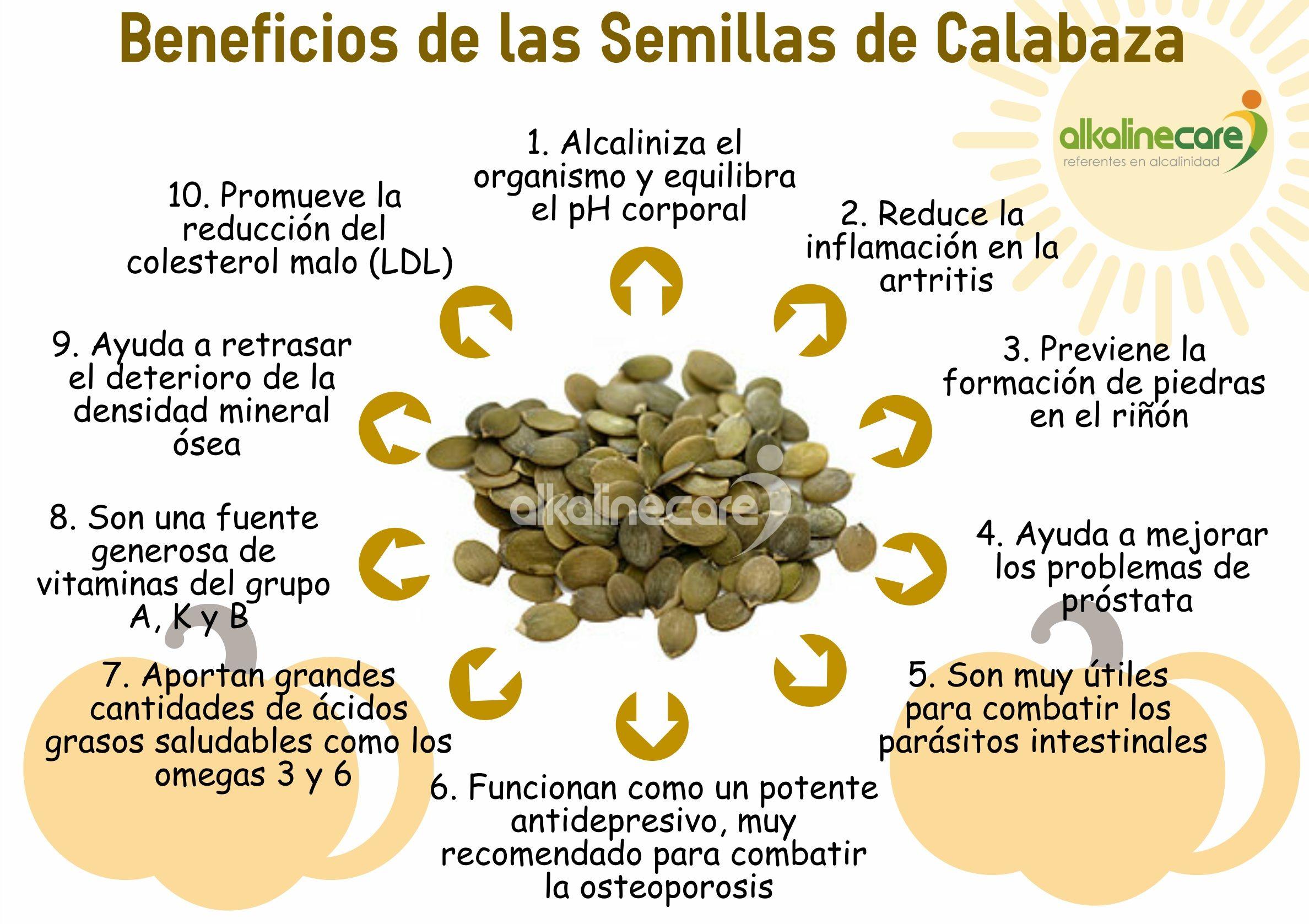 beneficios de solfa syllable semillas de calabaza