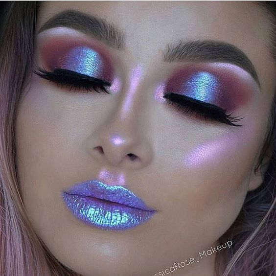 Photo of Vilken # makeup #! # # Inspiration # Sirener / enhörningar # Vilken …