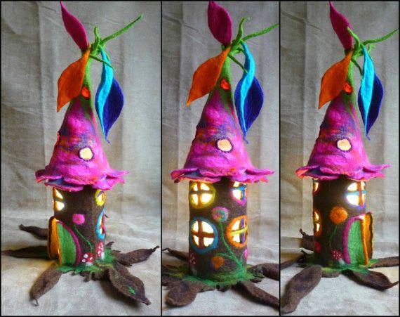 Filz H 228 Uschen Basteln Feenhaus Fairy Ideen