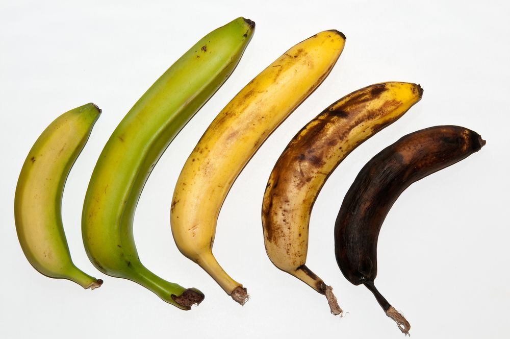 Kedy je najlepšie jesť banány? Dozreté, či nedozreté?
