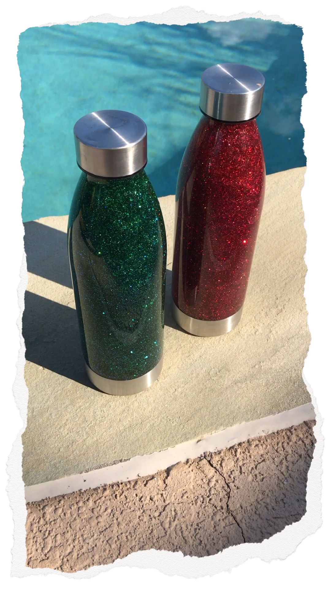 Photo of Glitzer-Schüttelflaschen | Einfach zum Zuhause Nachmachen | Calming Bottle