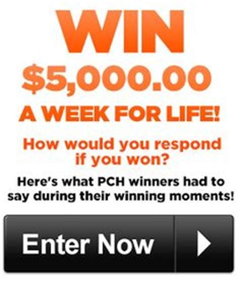 PCH Giveaway No 4900 Win a 7000 AWeekForLife - oukas info