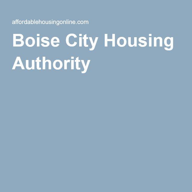 Boise City Housing Authority In Idaho Boise City Boise Author