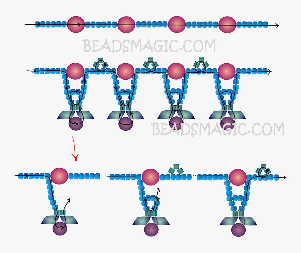 free-beading-tutorial-necklace-2.jpg (1200×1011)
