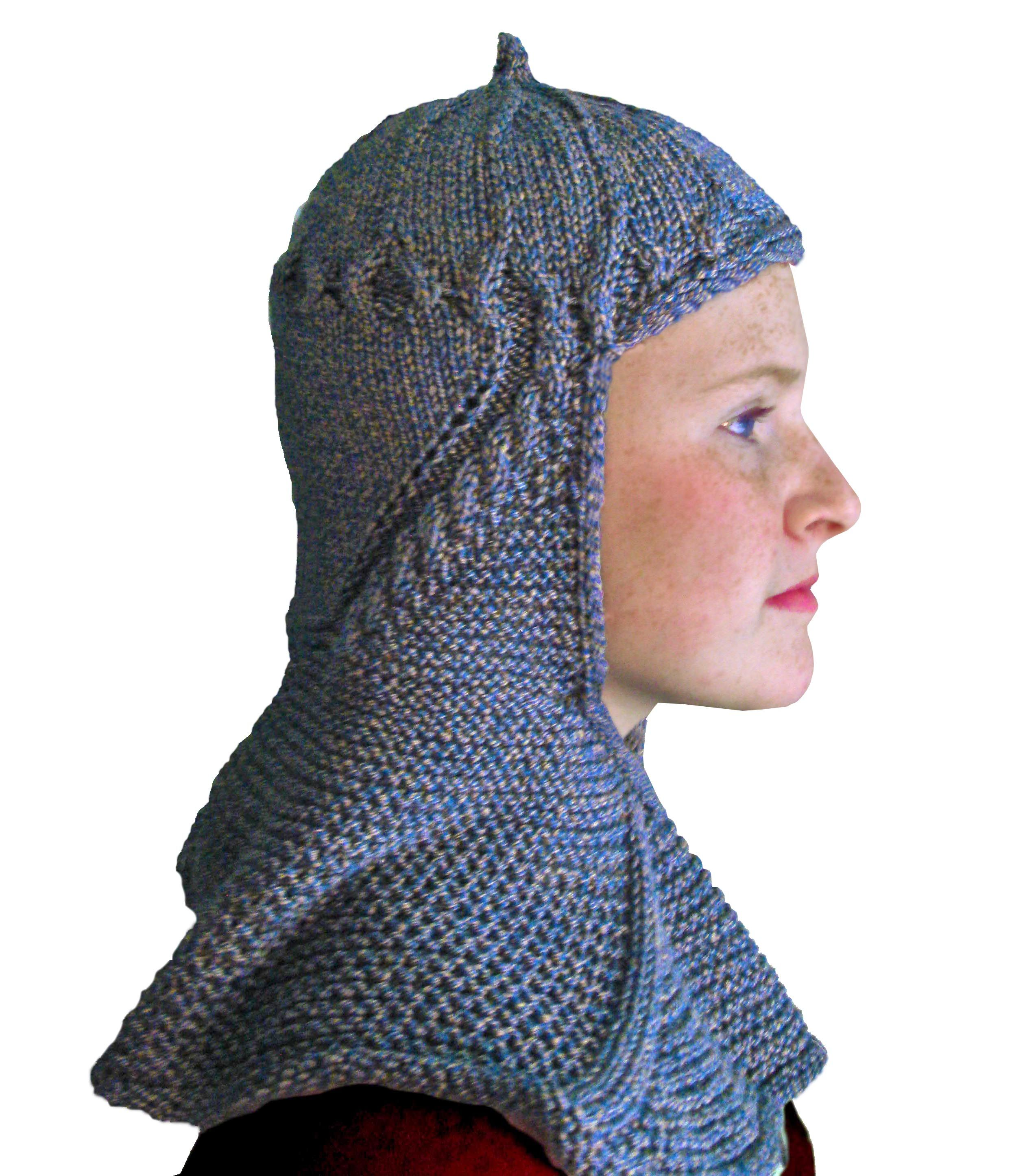 Knitted Knight Hat  437d0d0f1bb