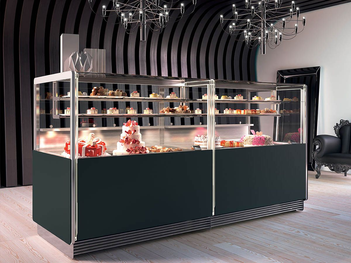 Gelato And Ice Cream Display Cases In California And Nationwide In 2020 Display Case Design Display