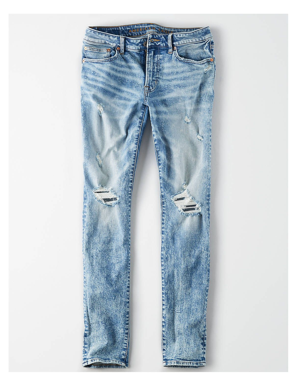 9d7b177a817 AE Flex Slim Jean, Light Acid Wash | American Eagle Outfitters ...