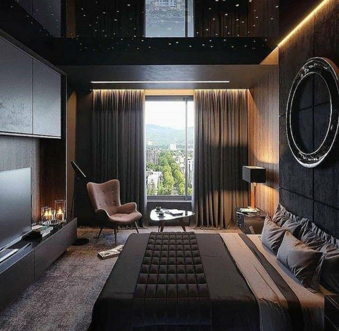 Interesting Masculine Men Bedroom Design Ideas You Need To Try Teracee Luxe Bedroom Luxurious Bedrooms Luxury Bedroom Master