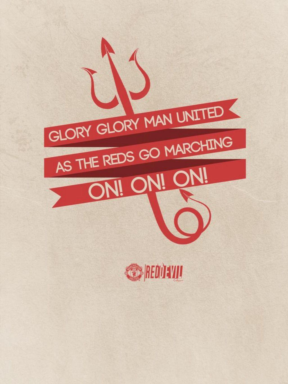 Манчестер юнайтед glory glory man united